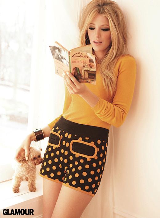 Blake Lively Covers Glamour Magazine July 2011
