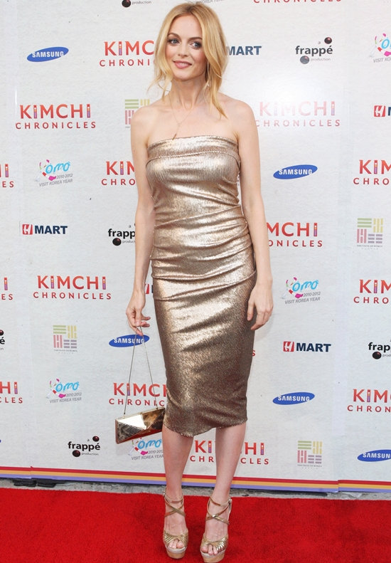 Heather Graham Attends the Kimchi Chronicles launch party