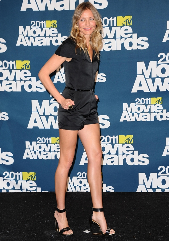 Cameron Diaz at MTV Movie Awards in Universal City