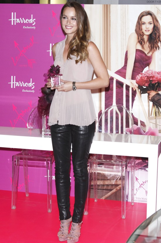 Leighton Meester Launches Lovestruck In London