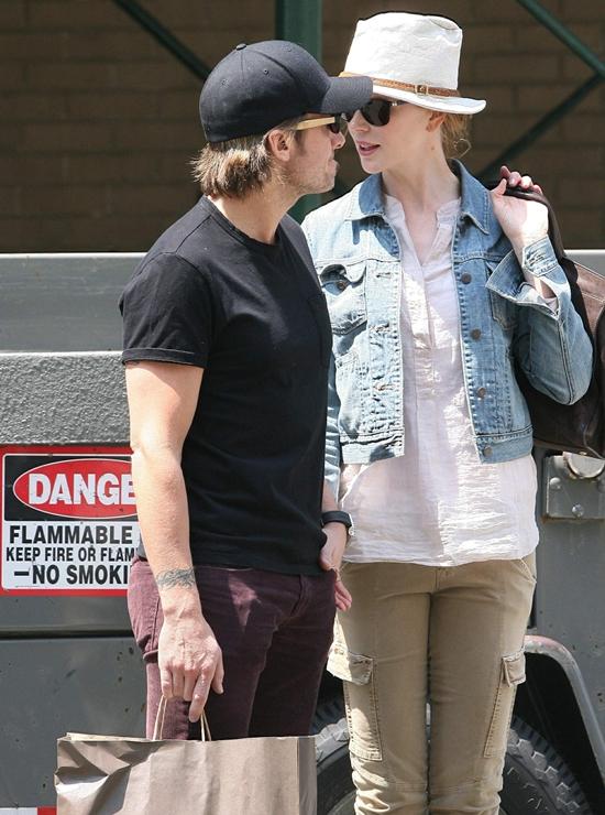 Nicole Kidman & Keith Urban out in New York City
