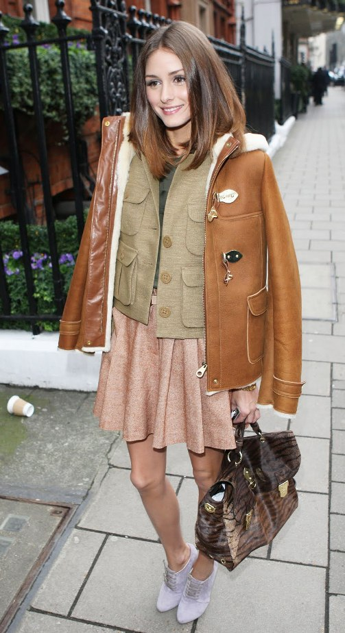 Olivia Palermo attended the Mulberry Fall 2011 fashion show