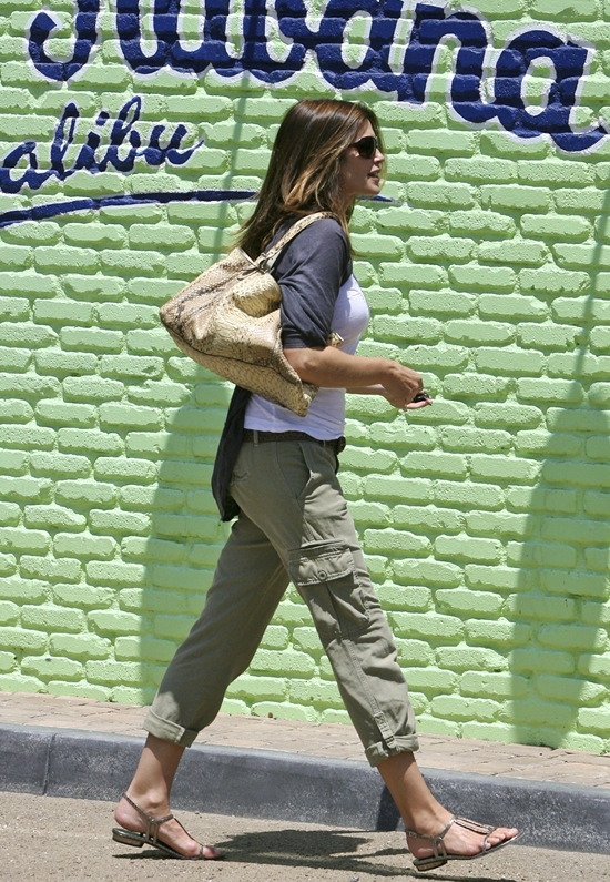 Cindy Crawford out in LA