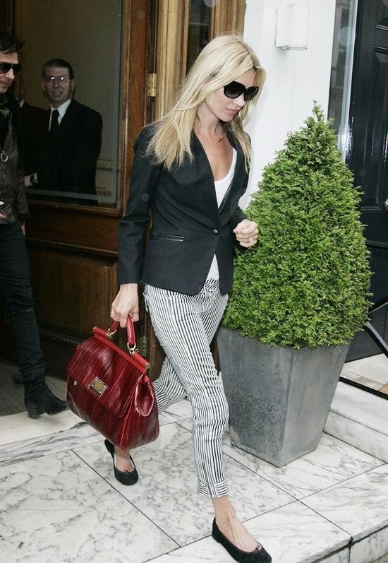 ケイト・モス ロンドンでお買い物♪