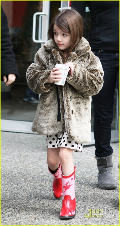 Suri Cruise Hot Cocoa Cowgirl!