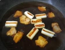 鶏南蛮うどん 調理③