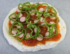 お餅ピザ 調理⑥
