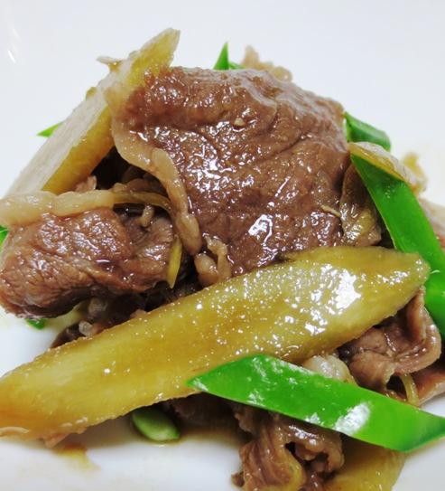 牛肉とごぼうのしぐれ煮 B