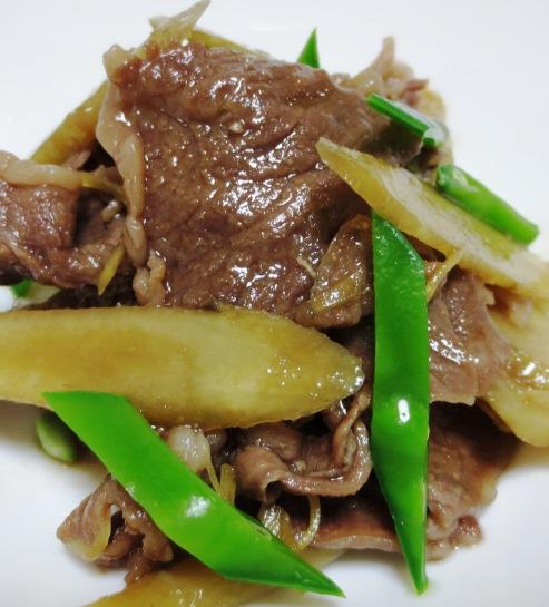 牛肉とごぼうのしぐれ煮 大