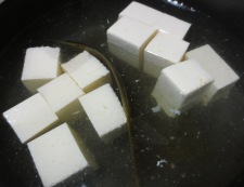 豆腐のわかめあんかけ 【下準備】②