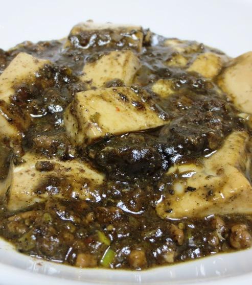黒胡麻麻婆豆腐 B