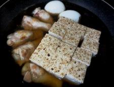 お焼と鶏手羽の炊いたん 調理⑤