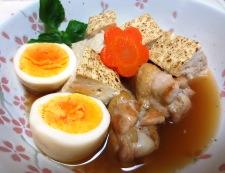 お焼と鶏手羽の炊いたん 調理⑥