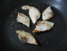 白身魚ホイコーロー 調理②