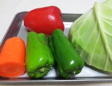 白身魚ホイコーロー 材料②野菜