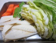 海鮮炒麺シーフードミックス 材料②