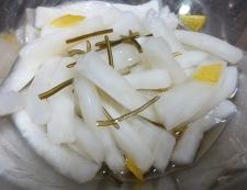 柚子大根のお漬物 調理④