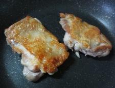 グリルチキンのオレンジソース 調理①
