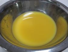 グリルチキンのオレンジソース 【下準備】①