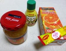 グリルチキンのオレンジソース 材料②