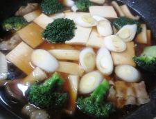 豆腐とブロッコリーの中華煮込み 調理⑥