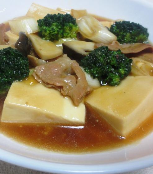 豆腐とブロッコリーの中華煮込みB