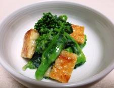 菜の花からし酢味噌和え 調理⑤