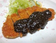 黒胡麻豚カツ 調理④