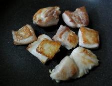 タバスコ照り焼き丼 調理②