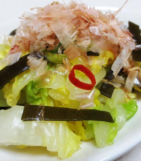 昆布とかつおで白菜のお漬物 B