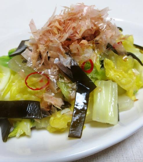 昆布とかつおで白菜のお漬物 拡大