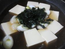 たぬき豆腐 調理③