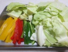 タラとキャベツの塩昆布炒め 【下準備】②