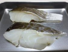 タラとキャベツの塩昆布炒め 材料①