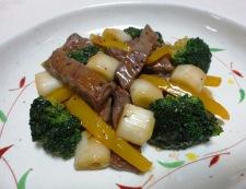 牛肉のタバスコ黒胡椒炒め 調理⑥