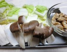 あさり豆腐 【下準備】