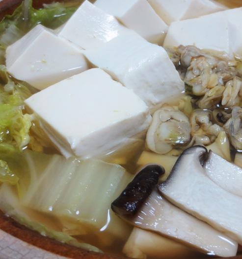 あさり豆腐 B