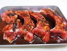スペアリブの豆鼓焼き 調理①