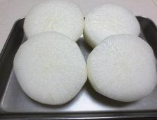 柚子味噌大根 【下準備】①