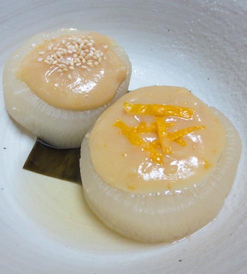 柚子味噌大根 大