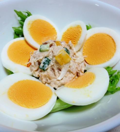 卵ツナサラダ 大