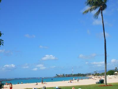 ハワイ アラモアナビーチ