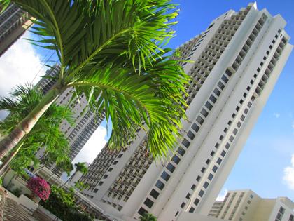 ハワイ ホテル マリオット