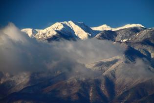 厳冬の西駒ヶ岳