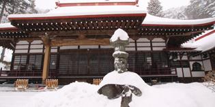 弘妙寺雪景色