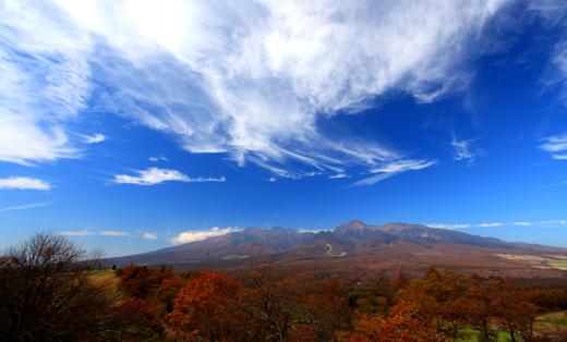 雲踊る八ヶ岳・平沢峠にて