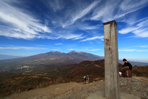 飯盛山の山頂