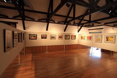 参加者写真展・展示スペース