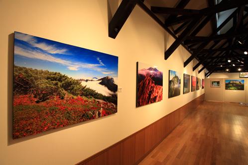 同時開催のデジタルカメラの世界・近作の山岳写真