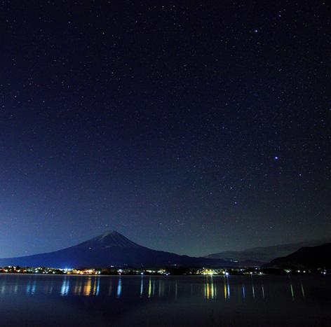 星降る霊峰富士
